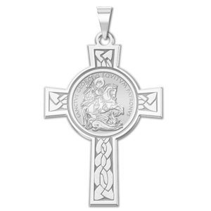 Saint George Cross Religious Medal    EXCLUSIVE