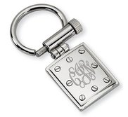 Stainless Steel Engravable Keychain