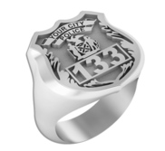 Personalized Police Ring