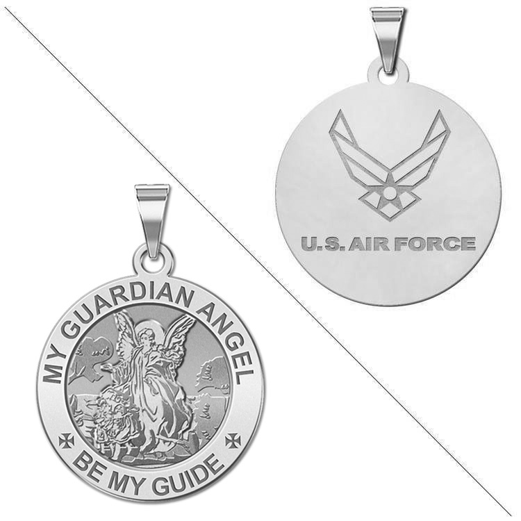 Air Force Small Gold Plated 1//2 Inch Pendant