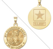 My Guardian Angel Doubledside ARMY Religious Medal  EXCLUSIVE