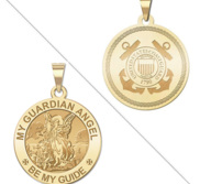 My Guardian Angel Doubledside COAST GUARD Religious Medal  EXCLUSIVE