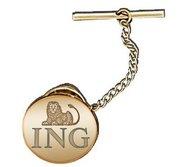 Round Tie Tack Logo Jewelry