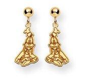 Disney Goofy Dangle Post  Earrings