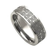 Dura Tungsten 8mm Polished Wedding Band