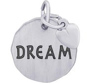 DREAM CHARM TAG ENGRAVABLE