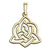 Sister Love Celtic Symbol Cut Out Pendant