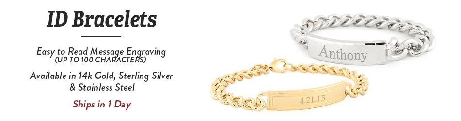 6aca3de95ce55 ID Bracelets – Gold and Silver ID Bracelets