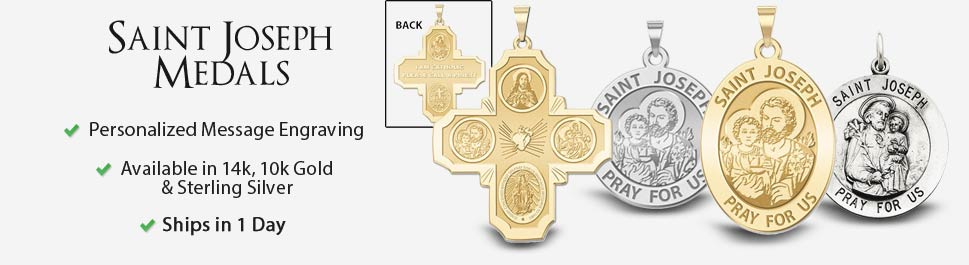 Saint Joseph Medals | Pictures on Gold