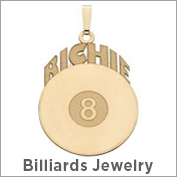 Billiards Jewelry