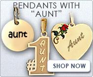 Pendants with  Aunt