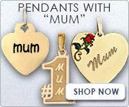 Pendants with  Mum