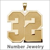 Number Jewelry