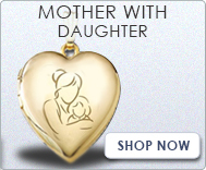 Mother with Daughter Locket