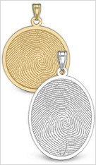 Fingerprint Jewelry  Keepsakes