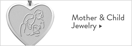 mother and child pendants
