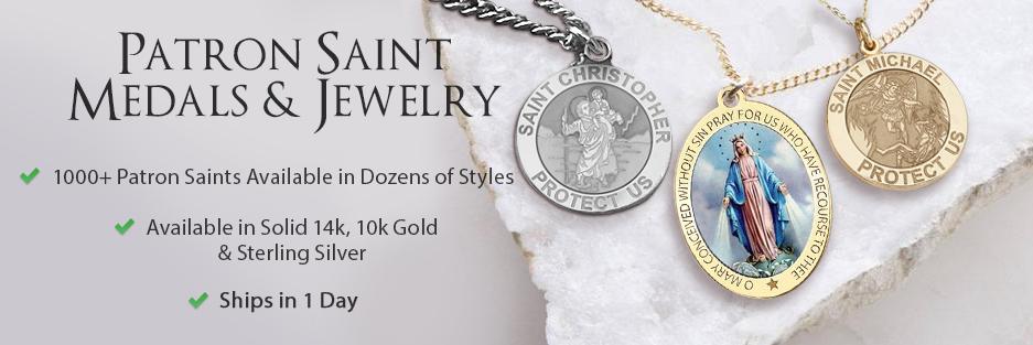 Religious Medals - Patron Saint Medals - Catholic Medals
